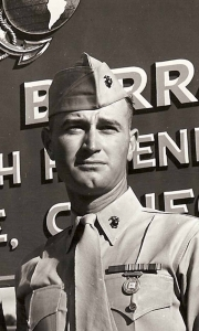 Lowell Fagen in military
